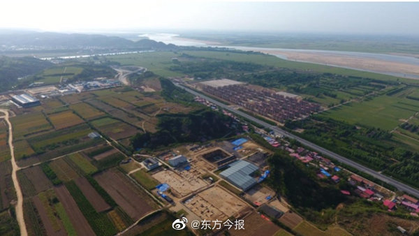 """郑州距今5300年的双槐树遗址 专家建议命名""""河洛古国"""""""